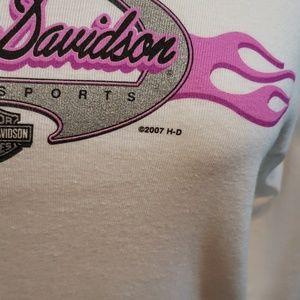 Harley-Davidson Tops - HARLEY DAVIDSON LONG SLEEVE MOTOR SPORTS T SHIRT